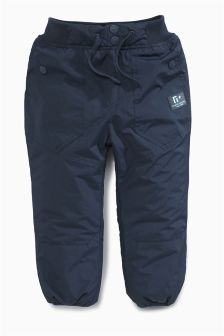 Navy Padded Trousers (3mths-6yrs)