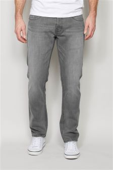 Light Grey Jeans With Stretch
