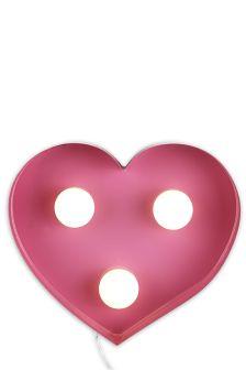 Pink Heart Feature Light
