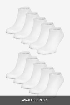 Ten Pack Trainer Socks