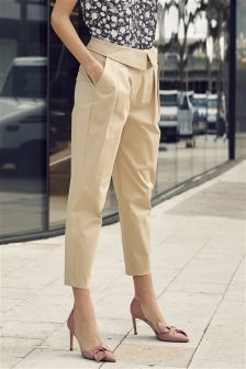 Neutral Envelope Waist Trousers