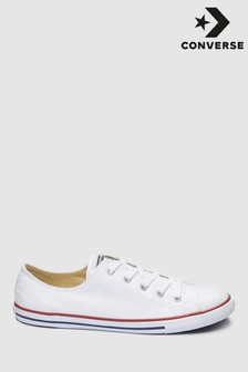 White Converse Dainty