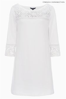 French Connection Summer White Noland Tunic Dress