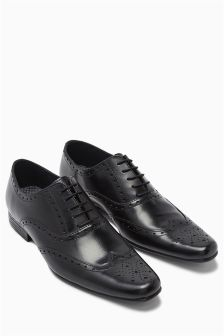 Black Oxford Brogue