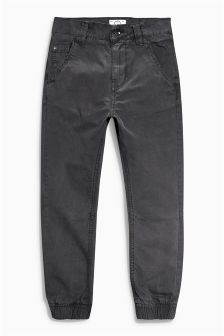 Charcoal Grey Drop Crotch Trousers (3-16yrs)