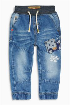 Indigo Transport Jeans (3mths-6yrs)