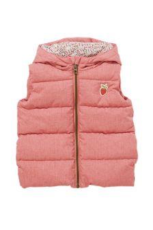 Pink Gilet (3mths-6yrs)