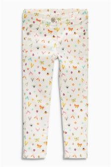 Multi All Over Print Skinny Jeans (3mths-6yrs)
