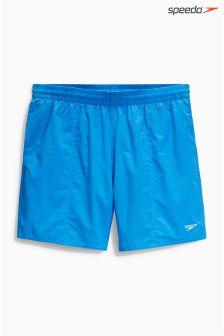 "Blue/Black Speedo® 16"" Swim Shorts Two Pack"