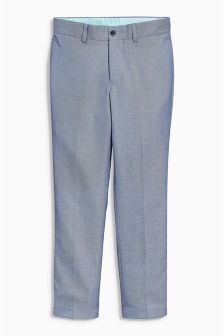 Blue Chambray Suit: Trousers (12mths-16yrs)