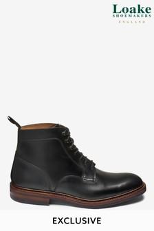 Black Loake Plain Boot