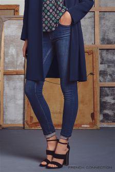 Denim Mid Blue French Connection Rebound Skinny Denim Jean
