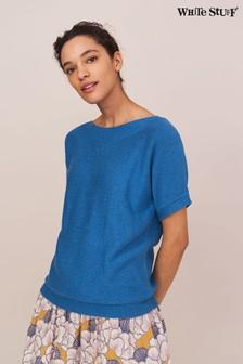 Blue/White Lyle & Scott Stripe Shirt