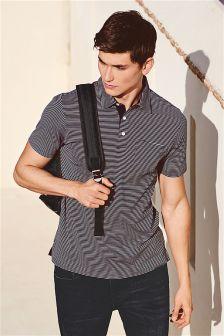 Smart Fine Stripe Polo