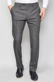 British Wool Suit: Trousers
