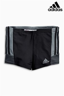 Black adidas Boxer Performance Swim Trunk Short