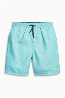 Plain Swim Shorts (3-16yrs)