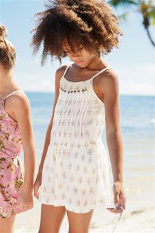 Butterfly Printed Playsuit (3-16yrs)