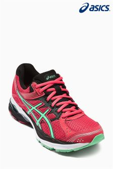Pink/Green Asics Run Pulse 7 Neutral Run