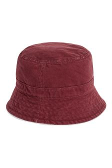 Navy/Burgundy Reversible Fisherman's Hat