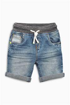 Mid Blue Authentic Denim Shorts (3mths-6yrs)