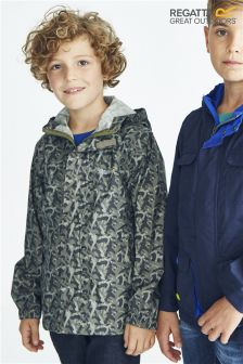 Regatta Camoflage Print Pack-It Jacket (3-16yrs)