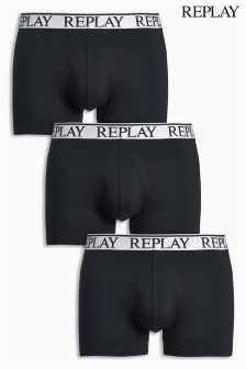Replay® Boxers Three Pack