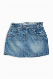 Mid Blue Denim Skirt (3mths-6yrs)