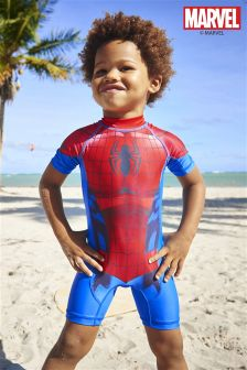 Red Spider-Man™ Sunsafe Suit (3mths-6yrs)