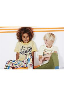 Two Pack Skate Stack Pyjamas (3-16yrs)