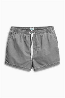 Washed Swim Shorts