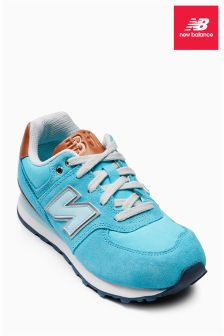 Teal New Balance Beach 574