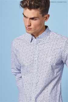 White French Connection Floral Shirt