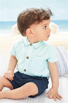 Mint Shirt Bodysuit (0mths-2yrs)