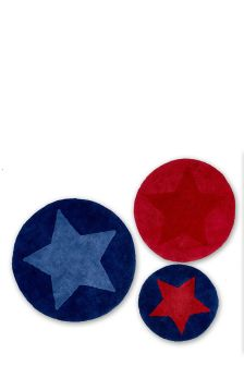Set Of 3 Star Rugs