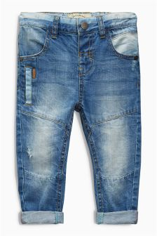 Denim Mid Blue Workwear Jeans (3mths-6yrs)