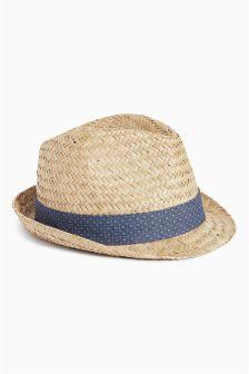 Stone Trilby Hat