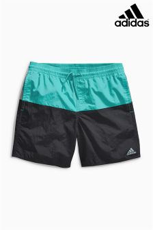 Black adidas Colourblock Swim Short