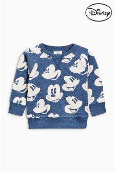 Indigo All Over Print Mickey Mouse™ Crew (3mths-6yrs)