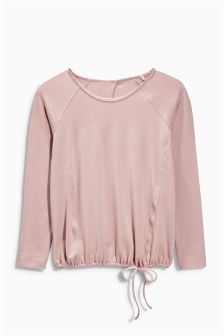 Studio Bubble Hem Top