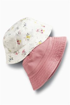Fisherman's Hats Two Pack (Older Girls)