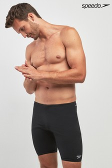 Black Speedo® Essential Jammer Short