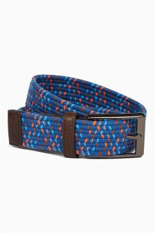 Blue Elastic Belt (Older Boys)