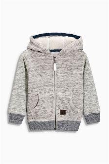 Grey Fleece Zip Through (3mths-6yrs)
