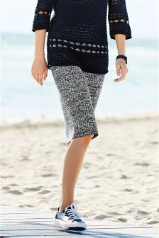 Knitted Ribbed Skirt