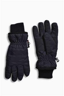 Black Ski Gloves (Older Boys)
