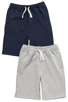 Navy/Grey Shorts Two Pack (3-16yrs)