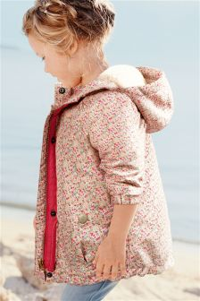 Pink Ditsy Technical Jacket (3mths-6yrs)