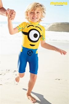 Yellow Minions Sunsafe Suit (2-6yrs)