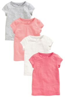 Multi T-Shirts Four Pack (3-16yrs)